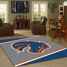 Boise State Broncos NCAA Team Logo Spirit Rug