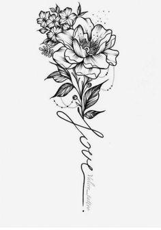 Trendy Ideas For Tattoo Sleeve Ideas For Women Flower Style Tatoeage ideas - flower tattoos designs - diy tattoo images - 21 Trendy Ideas for Tattoo Sleeve Ideas for Women Flower Style Tatoeage ideas flowe -