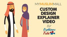 My Muslim Mall | Custom Explainer video Animation by ExplainersTube http://www.ExplainersTube.com is one stop shop for Explainer and Whiteboard video's in the most affordable prices - Get a free quote and consider it done!
