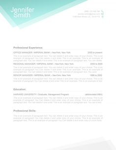 Classic Resume Template  Is For Anyone Looking To Create A