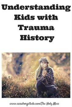 Understanding Kids with Trauma History. If you work with kids who have trauma, have you put together the pieces of the puzzle? They need you to do so. Foster care, adoption, premature babies, special needs, medical needs, abuse -- this is a must read.