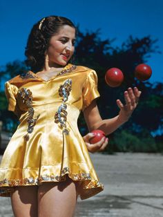 For Love of 1940's Circus Showgirls - Juggler