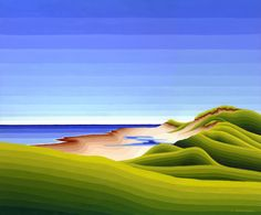 Lakeside PEI - Acrylic Painting by Susan Christensen Lakeside Park, Limited Edition Prints, Art Gallery, Island, Illustration, Outdoor Decor, Color Palettes, Design, Behance