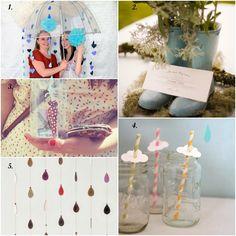Rainy day party inspiration