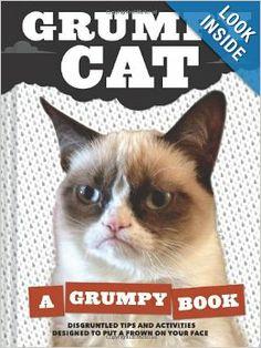 Grumpy Book. Kindle price: $7.69. Hardcover price: $10.17 #GrumpyCat #ChristmasGifts on www.pinterest.com/erikakaisersot