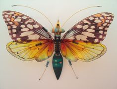 The Oakwood Forester Circuit Board Insect by DewLeaf on Etsy
