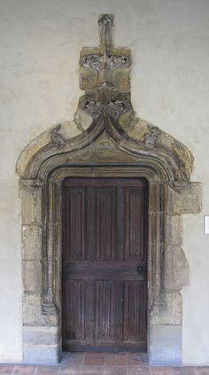 Oak Door - Date: 1450–1500, Poitou, France