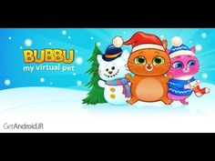 Review Bubbu game.this is my cat.my virtual pet.games play for kids