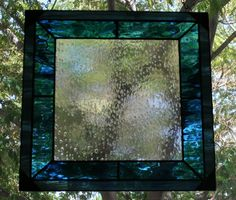 Stained+glass+panel+Art+Stormy+Night+rain+on+by+Glasspainter1,+$125.00