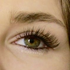 What are 'flat lashes?' They are single eyelash extensions that have a squashed wider shape than regular ones (that are more cylindrical) - they are good for creating a thicker more dramatic look without the extra weight of thicker extensions. Because whilst they look thicker and heavier - they are actually lighter in weight than regular extensions! #flatlashes #flateyelashextensions #ladylashnewtown #ladylashparramatta #sydneylashes #lashesonfleek #eyelashexperts