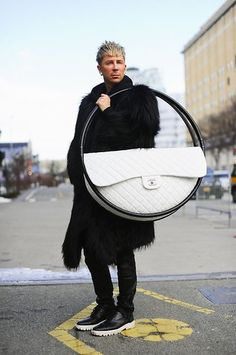 Kyle Anderson - Accessories Director/ Marie Claire - CHANEL (by Kyle Anderson) http://lookbook.nu/look/4590053-Kyle-Anderson-Accessories-Director-Marie-Claire-CHANEL