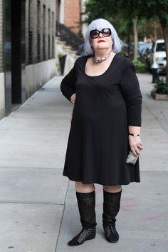 ADVANCED STYLE - 72 year old Zoya looking fab!