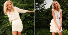 summer whites from shopbop