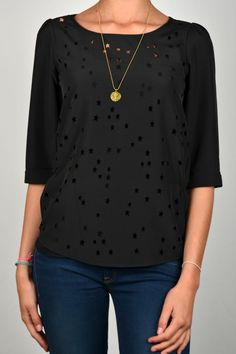 Fancy it is. Comes with the necklace.    MAISON SCOTCH FANCY STAR TOP 06 | Kelly Fashion Webstore