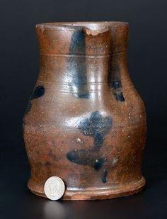 Old Crocks, Chucky, Stoneware, Primitive, Virginia, Auction, Pottery, Vase, Ceramics