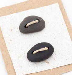 botones de piedra natural  piedra natural perforacion