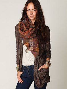 Super soft cardi from Free People!