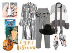 """Inspector Gadget: Happy Halloween Series"" by carolinarcieri on Polyvore featuring 3.1 Phillip Lim, MANGO, Acne Studios, Eugenia Kim, Loeffler Randall, Valentino and Improvements"