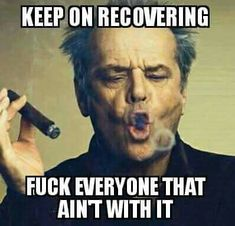 Many people struggling with drug addiction think that recovery is nearly impossible for them. They've heard the horror stories of painful withdrawal symptoms, they can't imagine life without drugs, and they can't fathom actually being able to get. Sober Quotes, Sobriety Quotes, Home Quotes And Sayings, Positive Quotes, Quotes To Live By, Life Quotes, Sarcastic Quotes, Attitude Quotes, Sarcastic Images