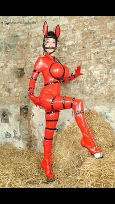 women of bondage and fetish Latex Suit, Sexy Latex, Summer Cummings, Sushi Love, Horse Costumes, Pony Horse, Collar And Leash, Weird And Wonderful, Catsuit