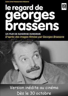Le Regard de Georges Brassens de Sandrine Dumarais (2011) // Sortie le 30.10.13