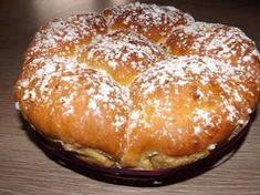 Brioche extra moelleuse à la vanille Croissants, Dessert Pots, Nutella, Donuts, European Cuisine, Pastry Cake, Mini Muffins, Sweet Cakes, Recipes