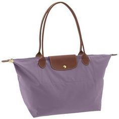 LongChamp Light Purple Large Folding Le Pliage Bag - goes perfectly with the Charleigh's Cookies colors! #charleighscookies #lavender #tote
