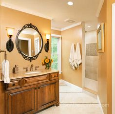 A Soothing Lavender Master Bath Remodel  Sun Design Remodeling New Virginia Bathroom Remodeling 2018
