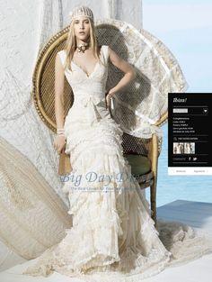 YC-Bulgaria Inspired by YolanCris Ibiza 2013 Wedding Dress Bulgaria