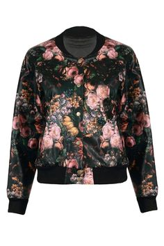 """Bomber jackets for spring! """"I'd have to say April 25th. Because it's not too hot, not too cold, all you need is a light jacket."""""""