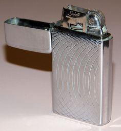 Vintage Scripto Butane Cigarette Lighter, Made In USA.