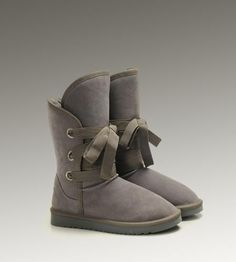 UGG Roxy Short 5828 Grey Boots-$121.6
