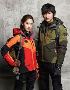 Yoona and Lee Min Ho