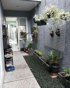 Home Dco Kitchen Plants 56 Ideas House Paint Exterior, Exterior House Colors, Minimalist Garden, Minimalist Home, Interior Garden, Home Interior, Interior Design, Vertikal Garden, Kitchen Plants