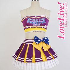 Tojo Nozomi  Lovelive school idol project μ's Cheerleaders  Cosplay Full set