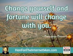 Change yourself and...  Sign Up For Your Daily Tips, Early Bird Special, Coupons & Bonus! HERE: http://hanfanapproved.com/hfslc/getYourEarlyBirdSpecialHERE/  Check Out Our New TV Channel: http://HanFanTheInternetManTV.com  Vimeo Us: https://vimeo.com/channels/hanfantheinternetman Friend Us: https://vimeo.com/hanfantheinternetman Like us: https://www.facebook.com/HanFanTheInternetMan Follow Us: https://twitter.com/HanFanTheMan Connect with us: https://www.linkedin.com