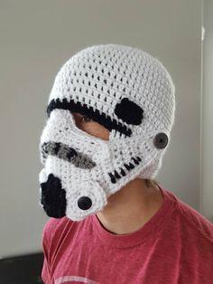 Storm Trooper Star Wars Helmet Husband gift boyfriend gift for men's hat - mens Winter character hat
