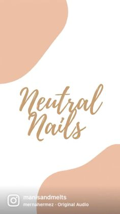 Neutral Makeup, Neutral Nails, Nude Nails, Stylish Nails, Nail Designs, Personal Care, Rarity, Eyes, Beauty