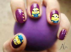 Minion Nails!!!!!