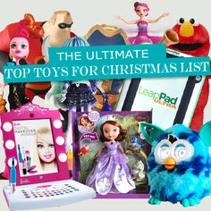 Here is the ULTIMATE gift guide to the Top Toys For Christmas 2016.