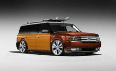 Ford Flex Woody.  This embodies the spirit of the Ford Flex!  @bzimme4 it's my Flex woody style......OMG!!!!