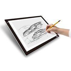 Amazon.com: Dbmier A4 LED Ultra-Thin Light Tracer Artcraft Tracing Light Pad