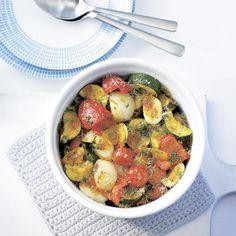 Pasta, immer wieder Pasta! Hier als rein vegetarische Varianten. Elf fettarme Rezepte mit höchstens 15 Gramm Fett pro Portion. Unbedingt probieren!