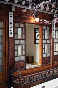 Korean Architecture - ondol bang (hot-stone-floored room)