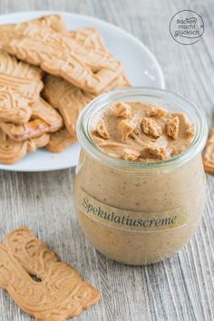 Homemade speculoos cream Baking makes you happy Brownie Recipes, Cheesecake Recipes, Ketchup, Chutney, Creme Speculoos, Sauce Barbecue, Vegetable Drinks, Healthy Eating Tips, Yummy Cookies