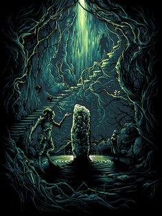 Pan's Labyrinth Classic Movie Poster Collection - Created by Dan Mumford