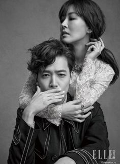 falling in love with soon jung :: Jung Kyung Ho x Kim So Yeon for Elle Korea, April 2015 Pre Wedding Photoshoot, Wedding Poses, Wedding Couples, Cute Couples, Couple Posing, Couple Portraits, Couple Shoot, Couple Style, Couple Photography