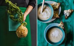 Confused by celeriac? Embrace this ugly veg and try these recipes Celeriac, Confused, Being Ugly, Food And Drink, Table Decorations, Recipes, Dishes, Ripped Recipes