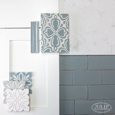 How To Choose The Perfect Tile Color - Julep Tile Company Bad Inspiration, Interior Design Inspiration, Bathroom Inspiration, Interior Design Kitchen, Interior Decorating, Bathroom Interior, Interior Design Boards, Interior Modern, Kitchen Designs
