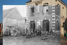 Peter Macdiarmid world war 1 superimposed photos